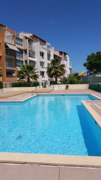 Location vacances Agde -  Appartement - 4 personnes - Court de tennis - Photo N° 1