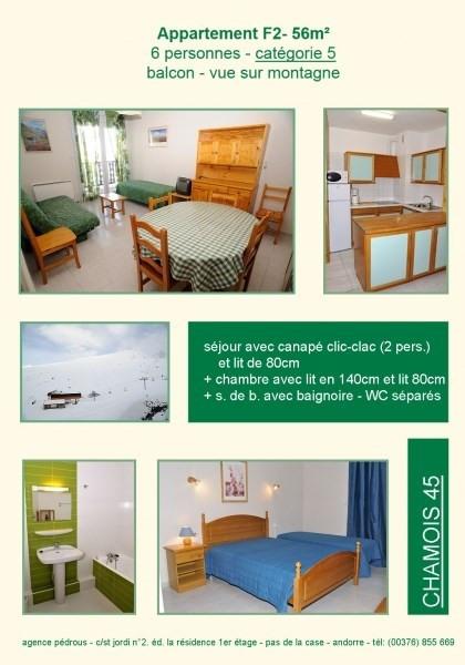 Location vacances Pas de la case -  Appartement - 4 personnes - Télévision - Photo N° 1