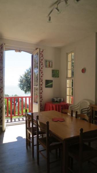 La cuisine dînatoire très claire avec son balcon