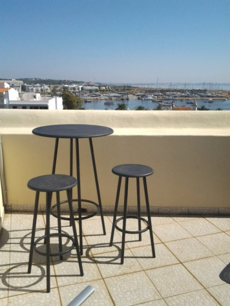 coin bar sur la terrasse