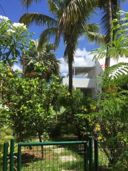 vue de l'appartement du portail d'entrée