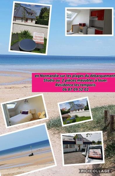 Location vacances Caen -  Appartement - 3 personnes - Jardin - Photo N° 1