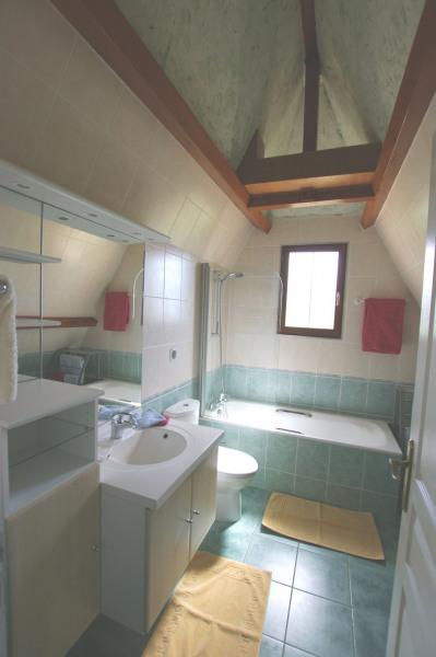 SDB commune Ch3 et CH 4 lavabo bains/douche WC
