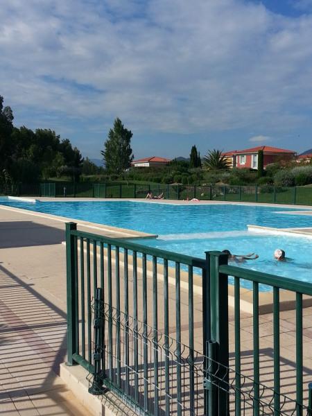 La piscine de la résidence
