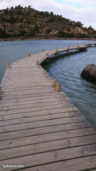 le sentier de randonnée sur les étangs