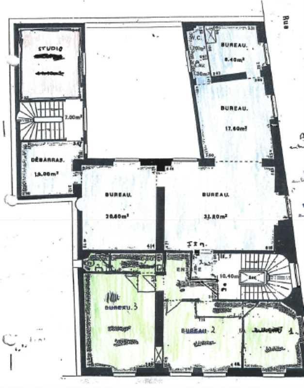 location bureau paris 9 me paris 75 93 m r f rence n 630586. Black Bedroom Furniture Sets. Home Design Ideas