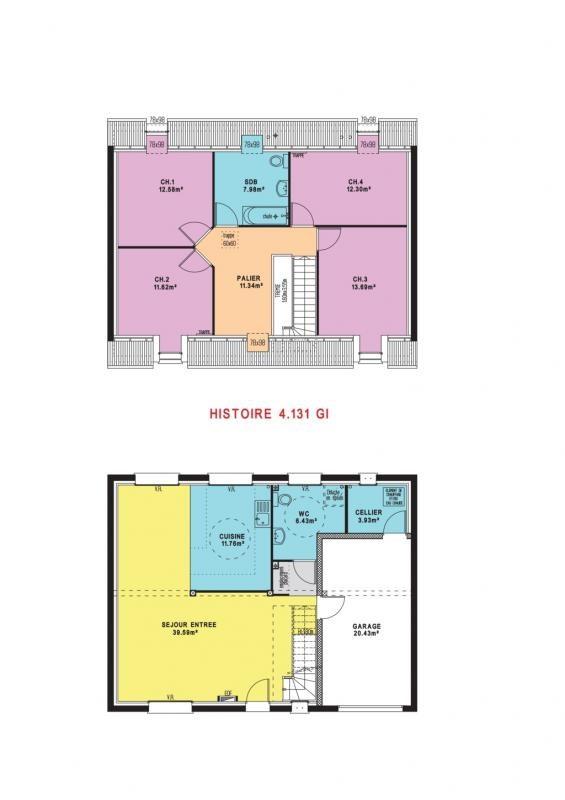 Maison  5 pièces + Terrain 548 m² Saint-Martin-le-Noeud par MAISONS PIERRE