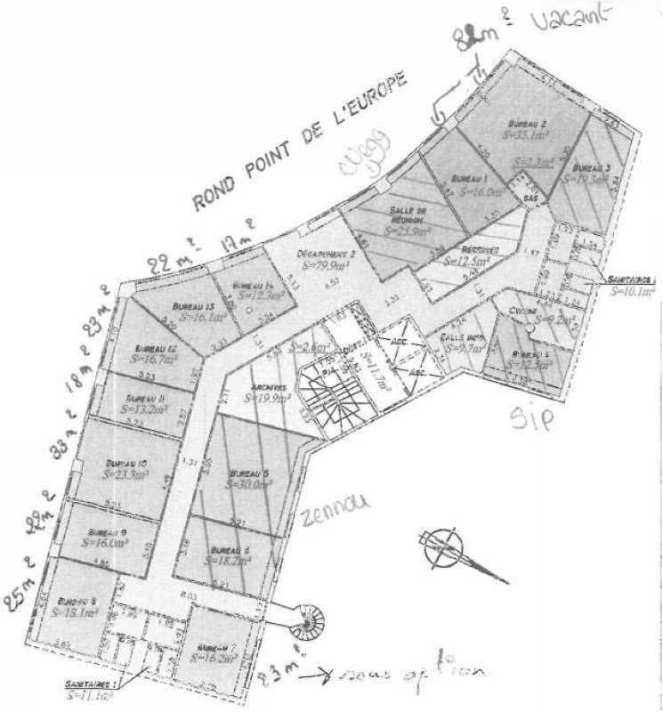 location bureau la garenne colombes hauts de seine 92 396 m r f rence n 22396. Black Bedroom Furniture Sets. Home Design Ideas
