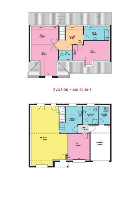 Maison  5 pièces + Terrain 450 m² Saint-Paul par MAISONS PIERRE