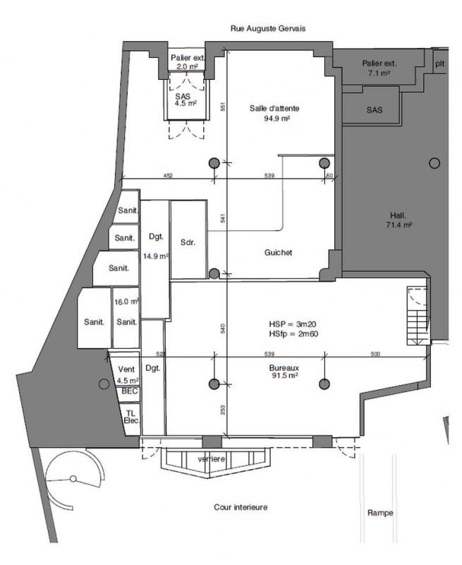 location bureau issy les moulineaux 92130 bureau issy les moulineaux de 1466 m ref p7648. Black Bedroom Furniture Sets. Home Design Ideas