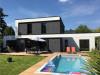 8pièces - 150 m² Projet construction Maison Contemporaine à Saint-Nom-La-Bretèche  Claudine Deleury et son ...