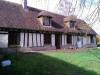6pièces - 150 m² En hameau, maison ancienne: cuisine avec éléments, salle à manger ouverte sur séjour avec cheminée, ...