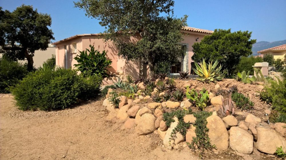 Une vue d ensemble de La Villa Les Myrtes
