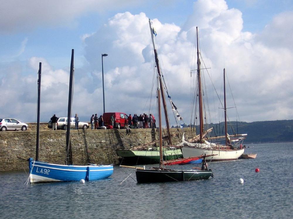 Vieux gréments ( fête de la sardine )
