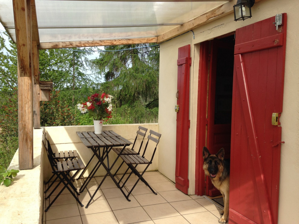 Terrasse couverte toutes saisons
