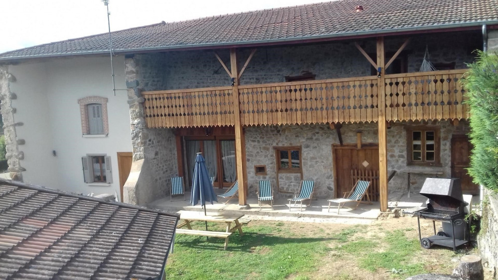 Holiday rentals Champoly - Cottage - 10 persons - BBQ - Photo N° 1