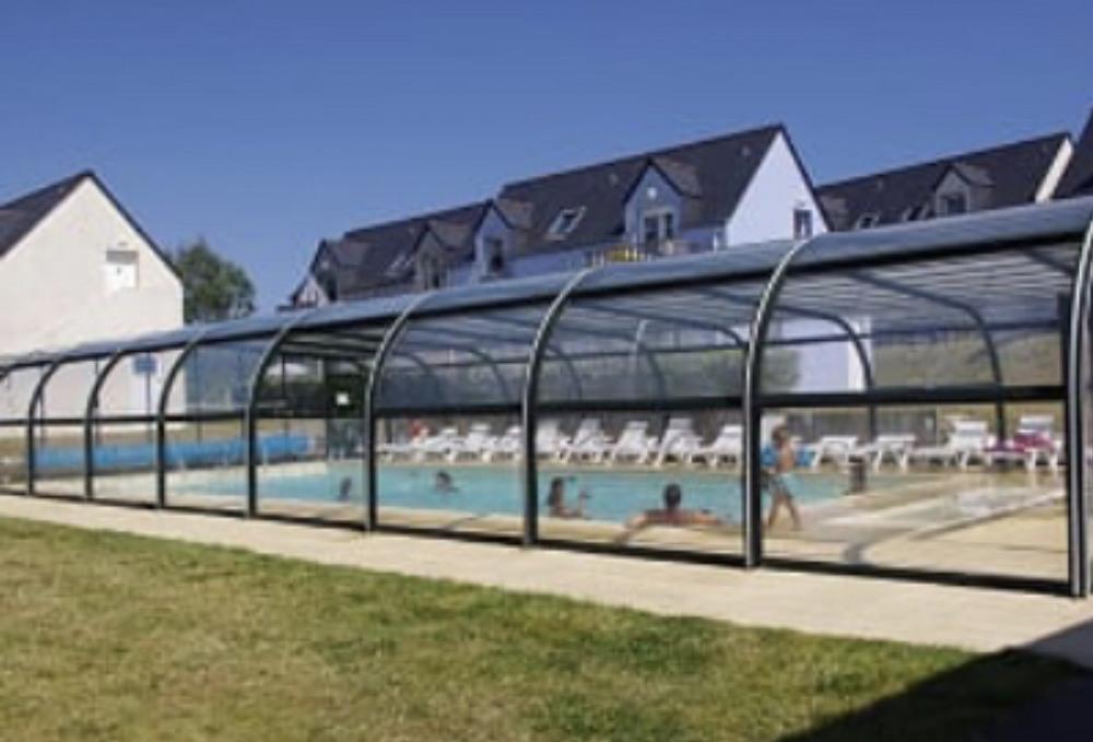 Maisonnette T2 duplex pour 4 pers avec piscinechauffée et couverte et la plage à pied