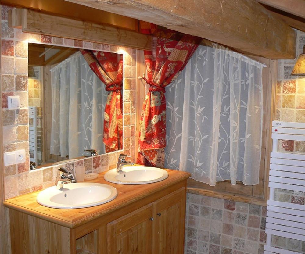 Salle de bain - Chalet de l'Ours