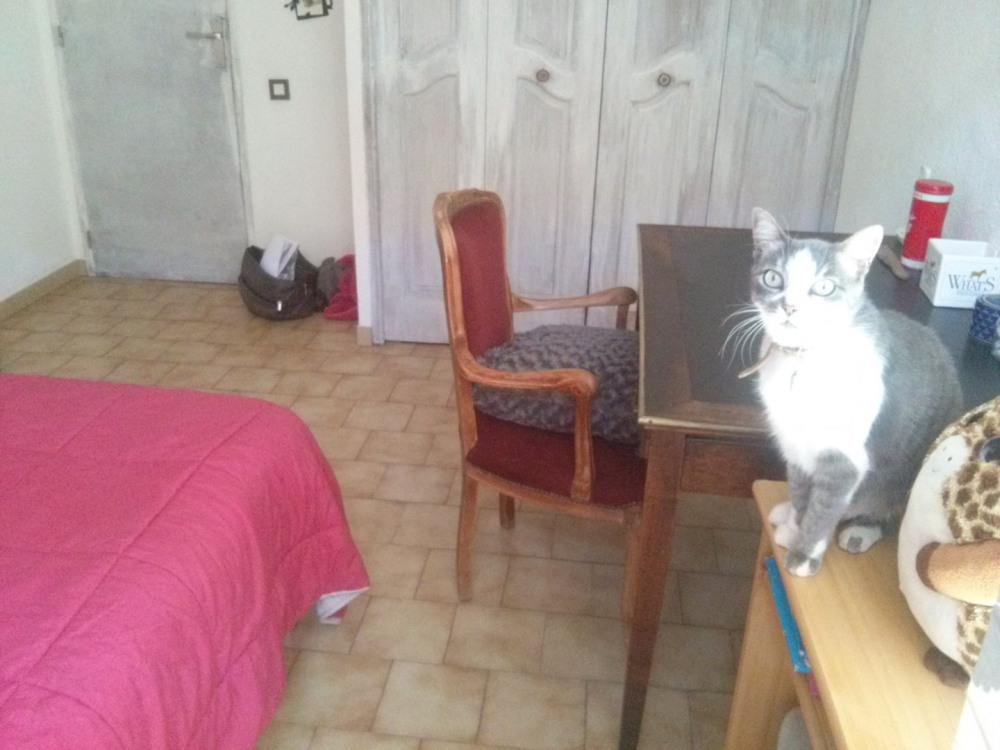 Chambre 1 avec placard et  lit double