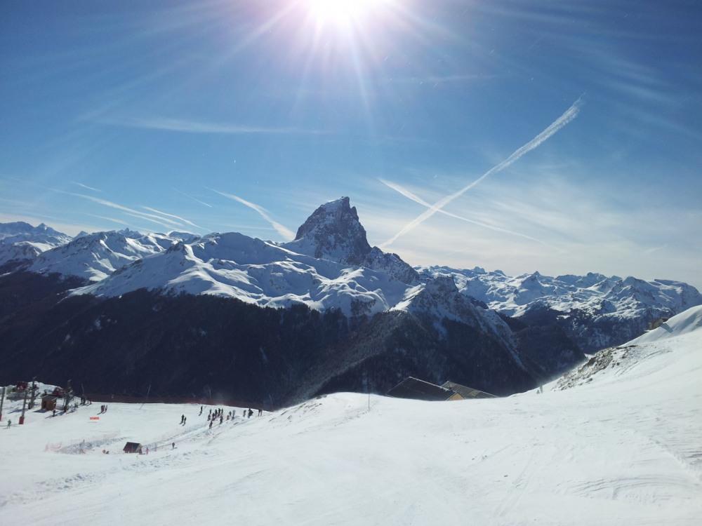 Pic du Midi d'Ossau en hiver