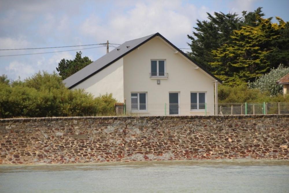 Maison en front de mer