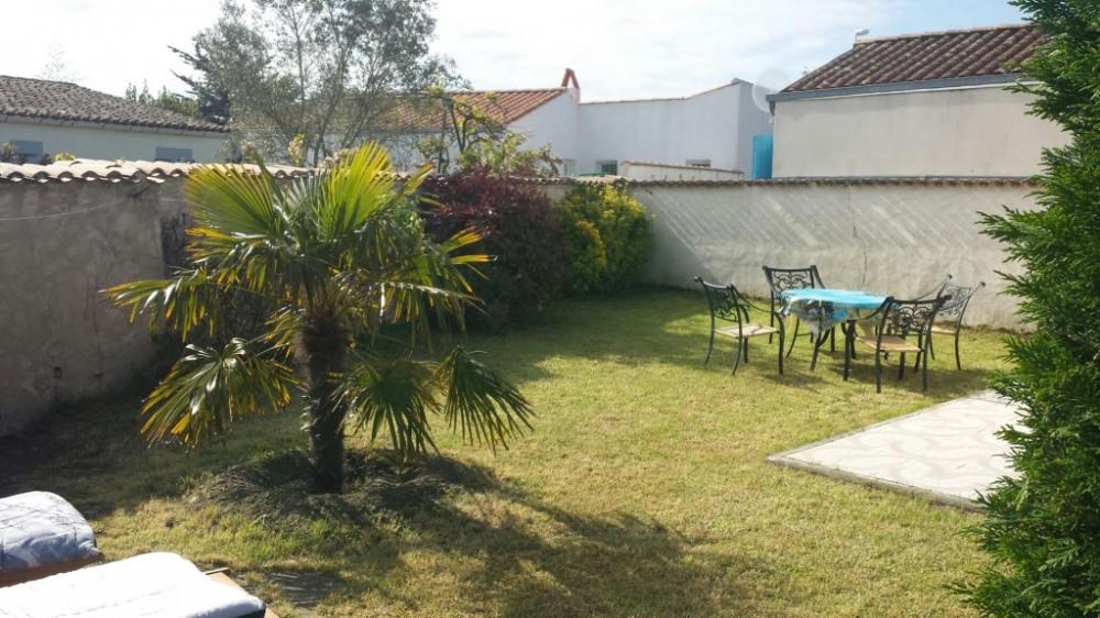 jardin privatif avec relax