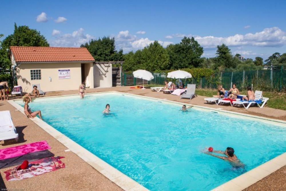 VivaCamp La Grappe Fleurie - Cottage Loggia 30m² / 2 chambres - terrasse couverte