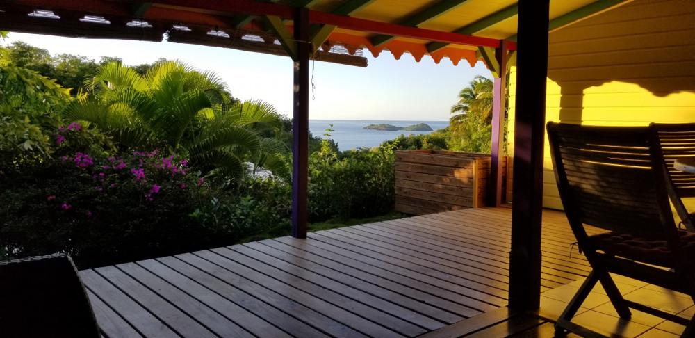 Alquileres de vacaciones Bouillante - Cabaña - 2 personas - Silla de cubierta - Foto N° 1