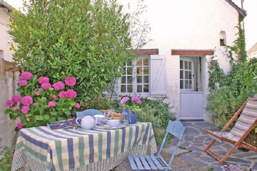 le petit cottage Mouzac jardin
