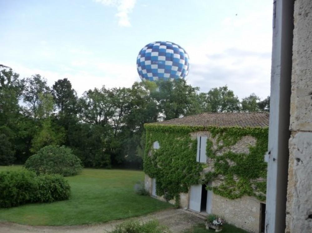 vous pouvez aussi réserver une sortie en montgolfièree
