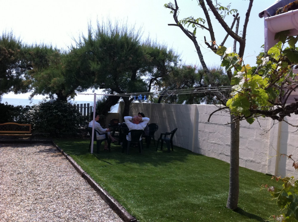 jardin 450 m²