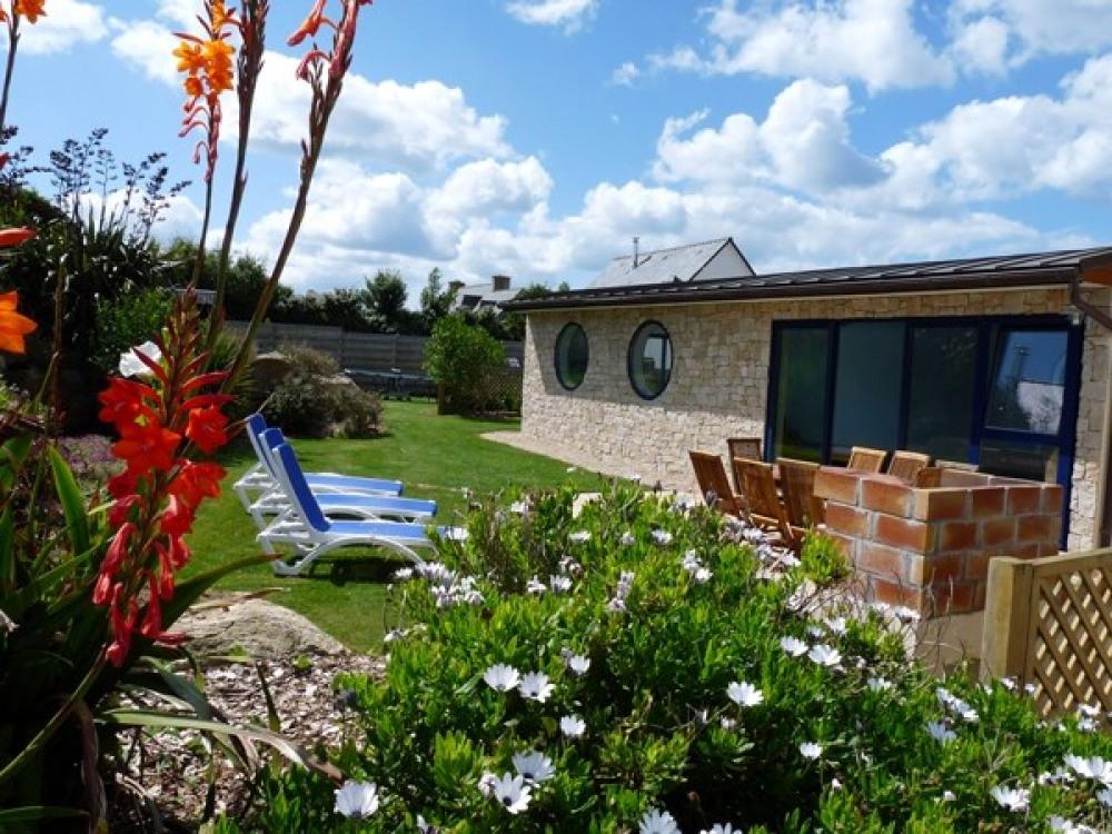 Jardin paysagé de 1300 m2