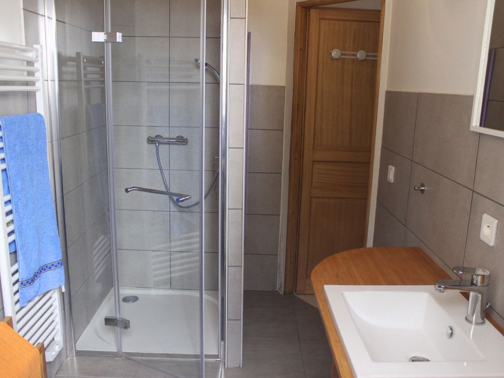 alle de bain, douche à l'italienne