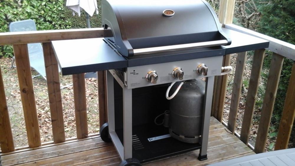 grand barbecue à gaz (gril et plancha)