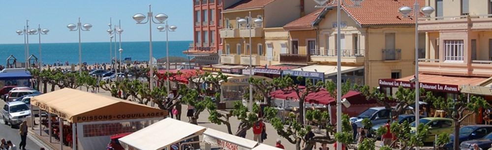 Valras centre // le port