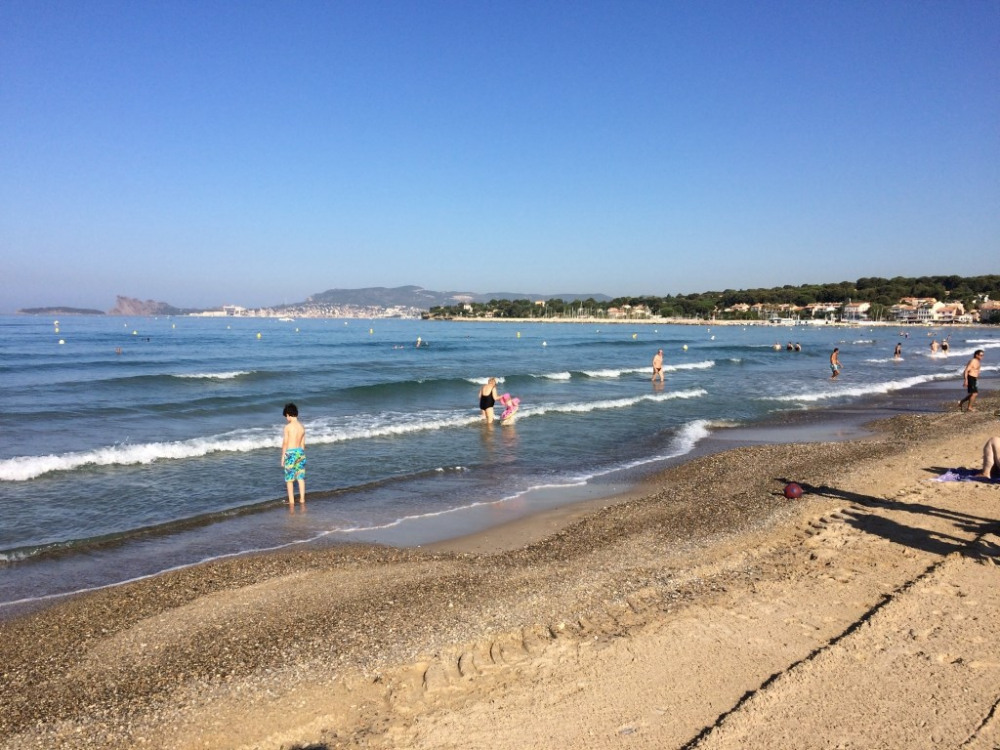la grande plage de sable