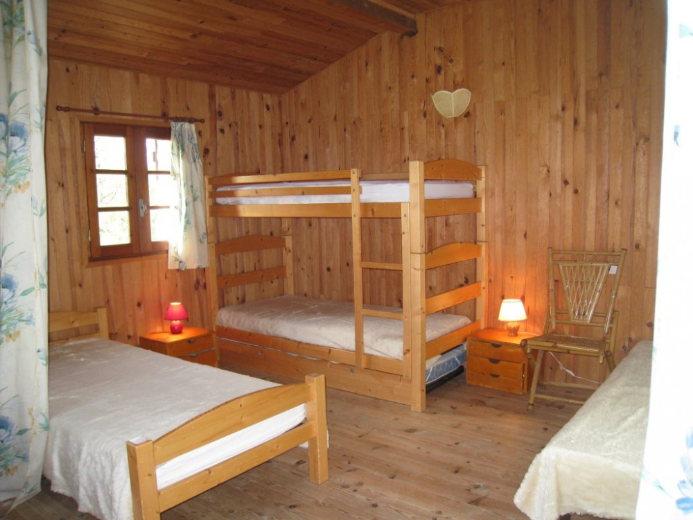 chambre mezzanine 5 lits 90