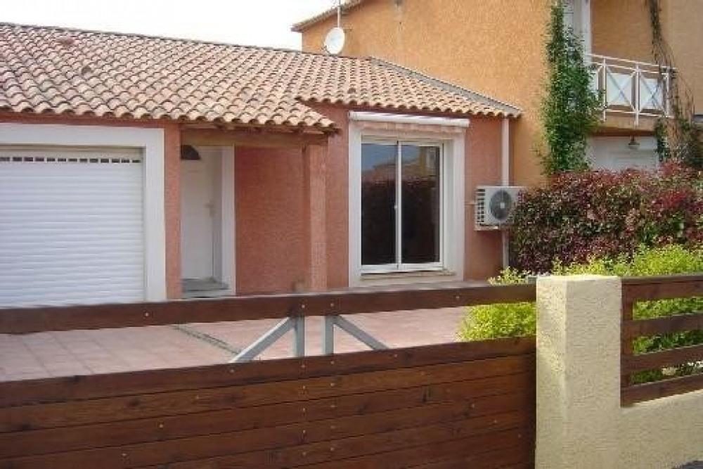 Narbonne Plage villa de 76 m2 de plain pied, location pour 5 personnes maximums.