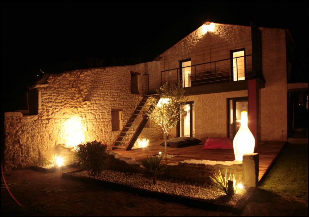 Notre maison de nuit - Royan - Charente maritime