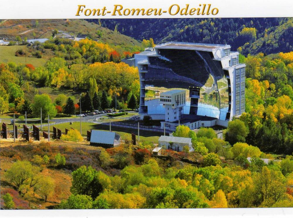 FOUR SOLAIRE  de FONT ROMEU ODEILLO