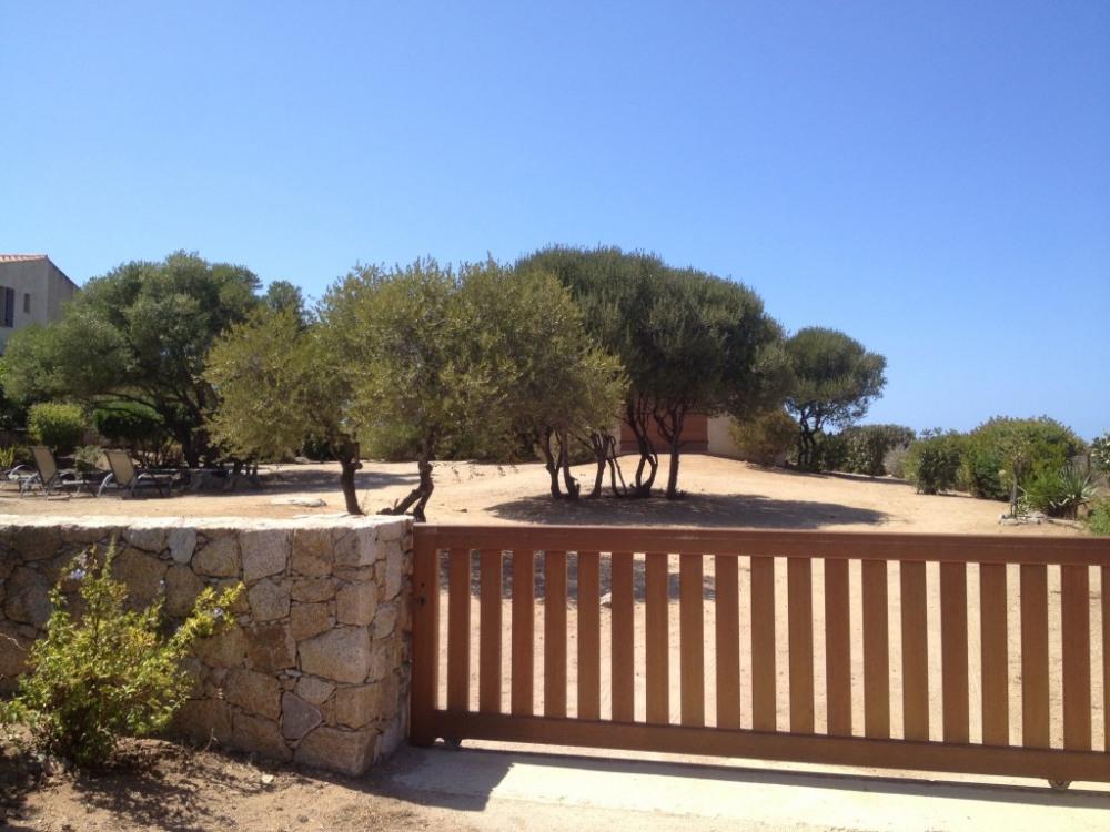 portail d'entrée dans la propriété
