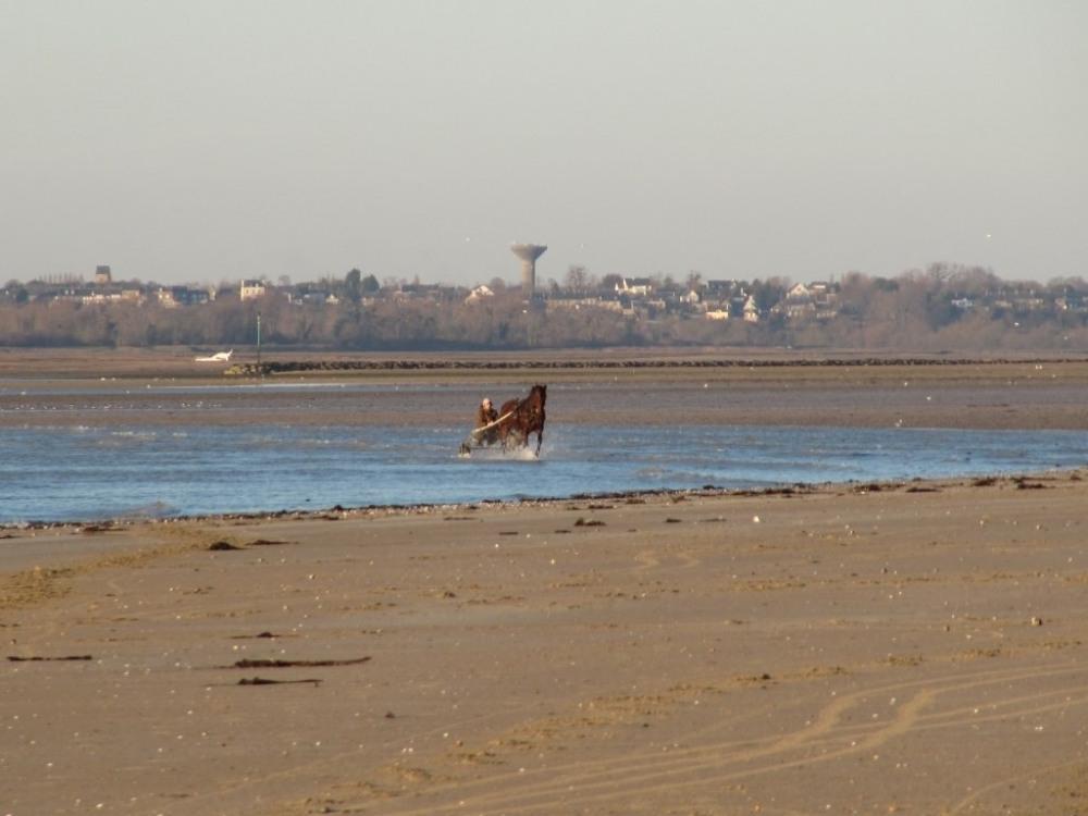 Hauteville sur mer la plage