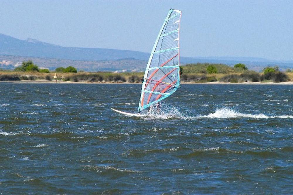 le lac marin, le paradis des sports de glisse.
