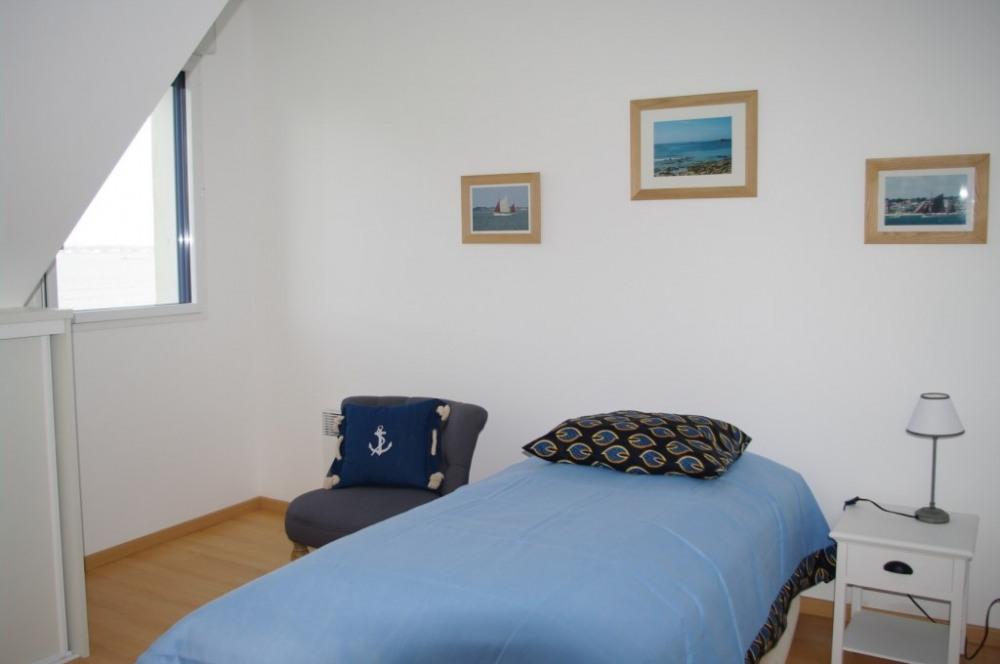 maison 2 chambre 1 lit étage vue mer