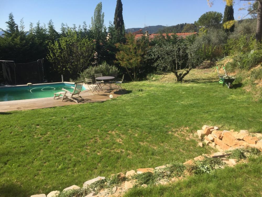 L'olivier est taillé ...