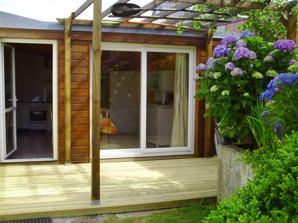 Terrasse / Entrée de la maison