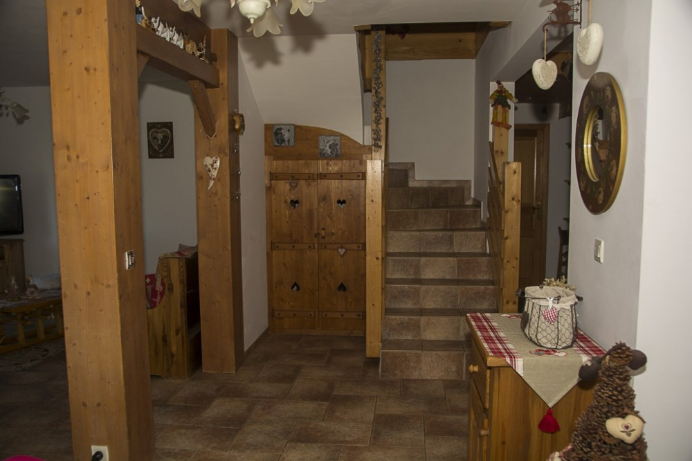 escalier menant a l`étage