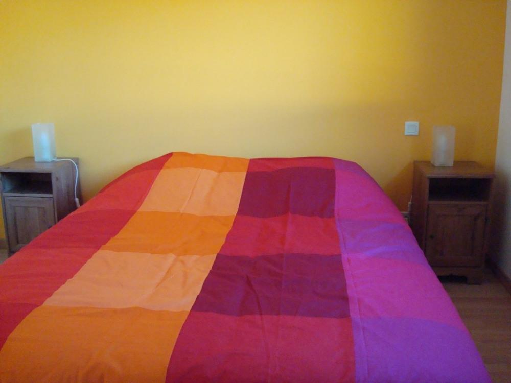 Chambre principale lit 1m60