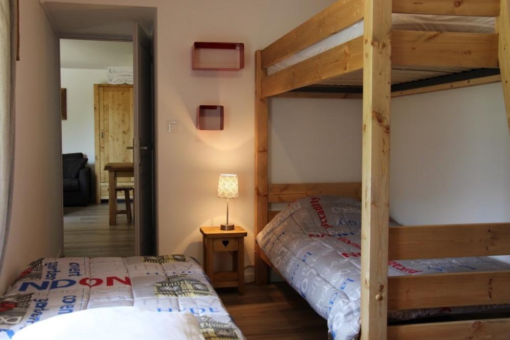 Chambre 2 ou 3 couchages