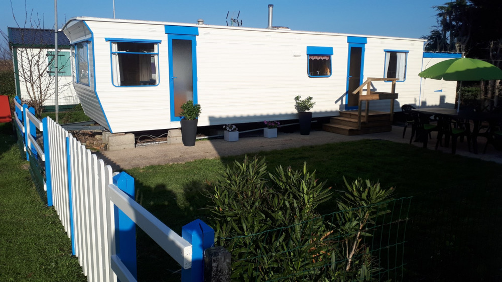 Mobile-Home 4 personnes en bord de plage